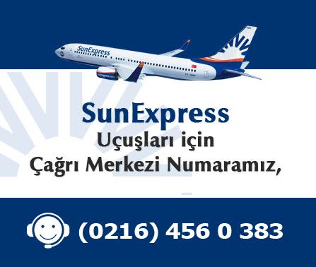 Sun Express Bilet Hattı (0216) 456 0 383