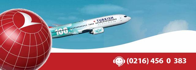 Yurtiçi Uçak Bileti (0216) 456 9 711